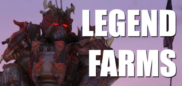 Fallout 76 Legendary Farms