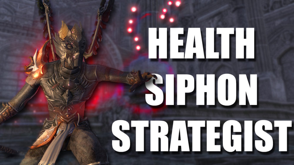 Magicka Nightblade PVE DPS | Health Siphon Strategist | Kevduit