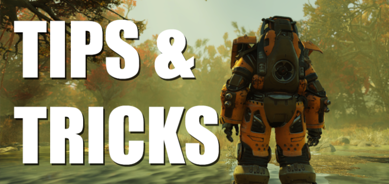 Fallout 76 Tips and Tricks