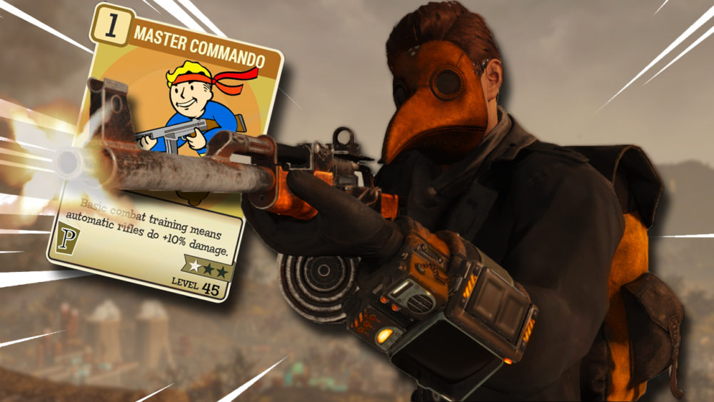 Fallout 76 Automatic Rifle Build