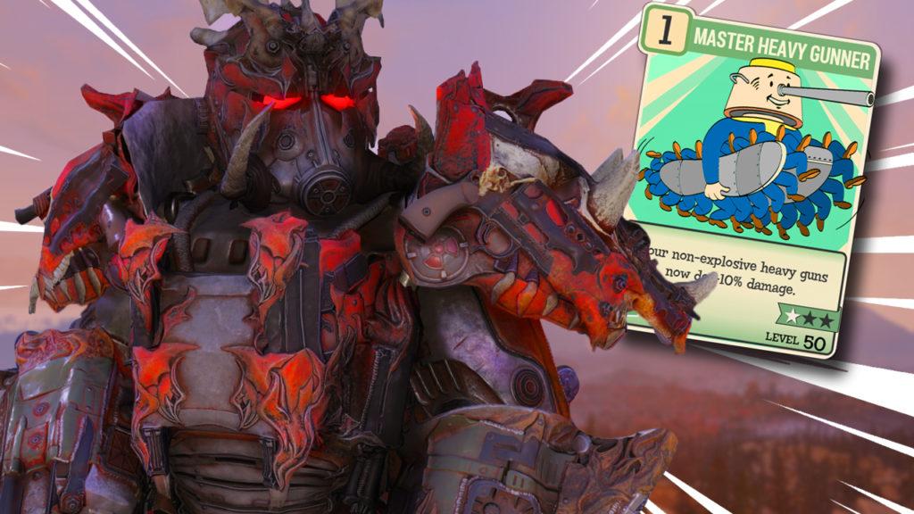 Heavy Gunners Build | Fallout 76 | Kevduit
