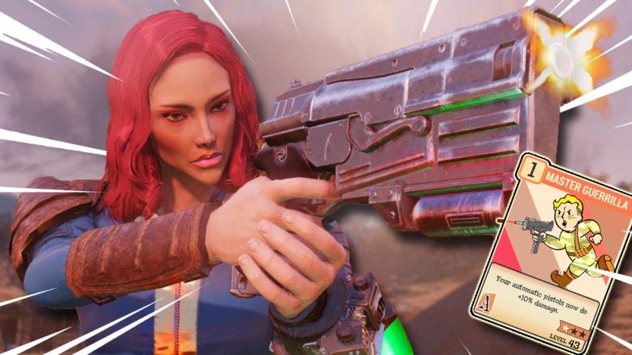 Fallout 76 Automatic Pistol Build