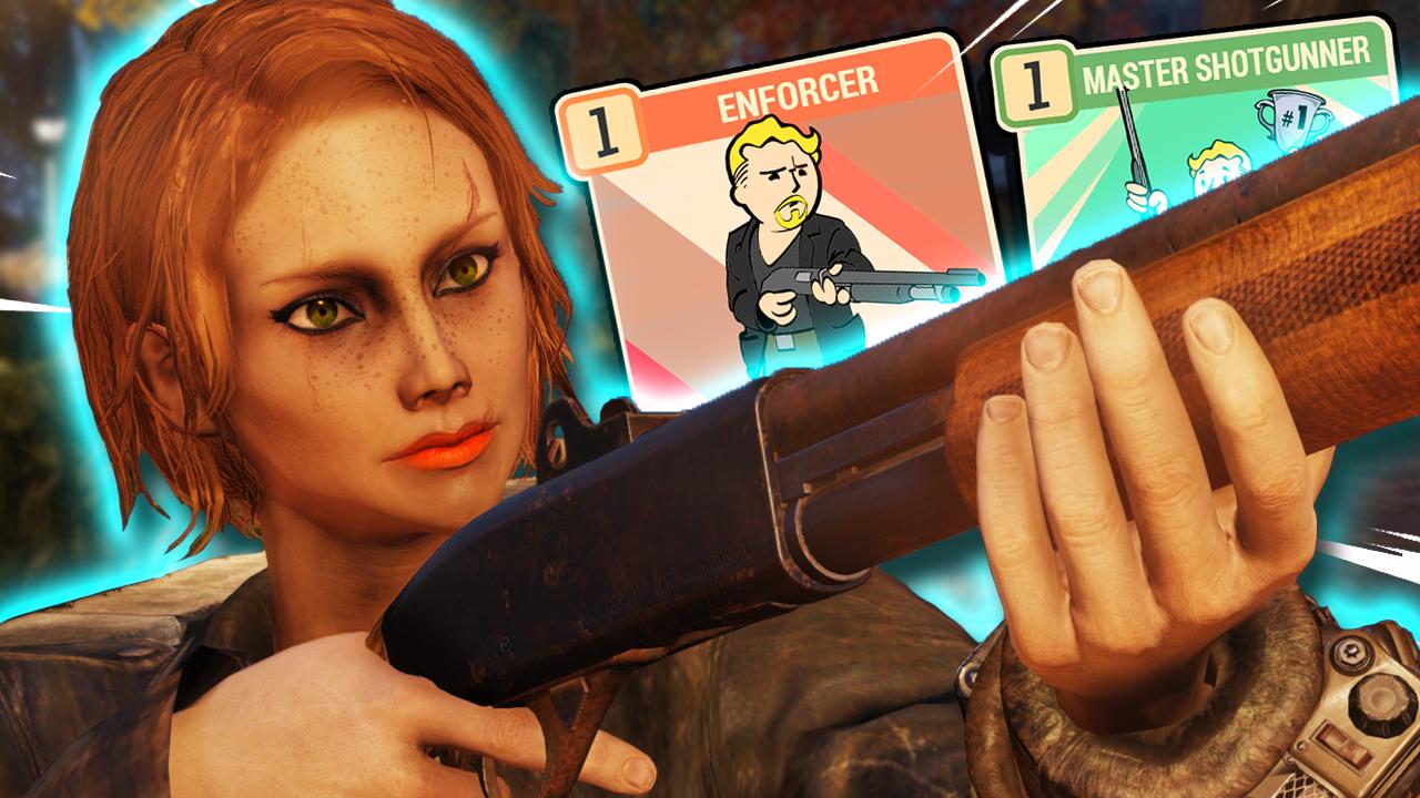 Fallout 76 Shotgun Build