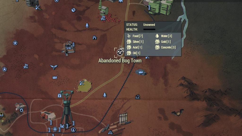 Fallout 76 Concrete Farm