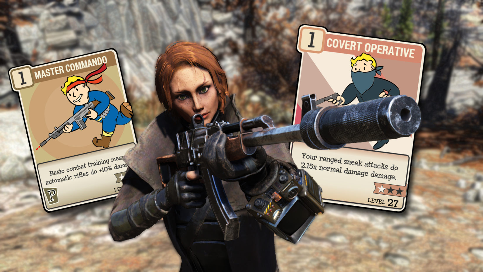 Fallout 76 Auto Rifle BUild