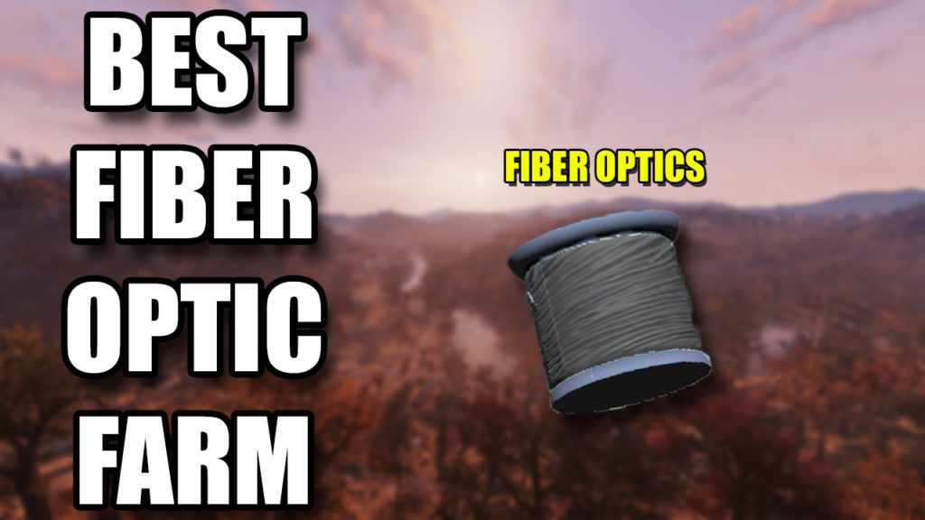 Fallout 76 Fiber Optics Farm