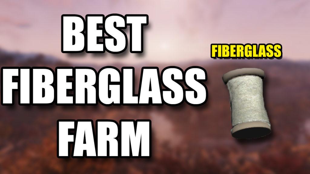 Fallout 76 Fiberglass Farm