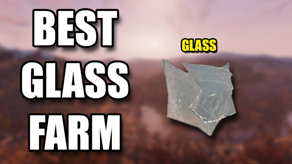 Fallout 76 Glass Farm
