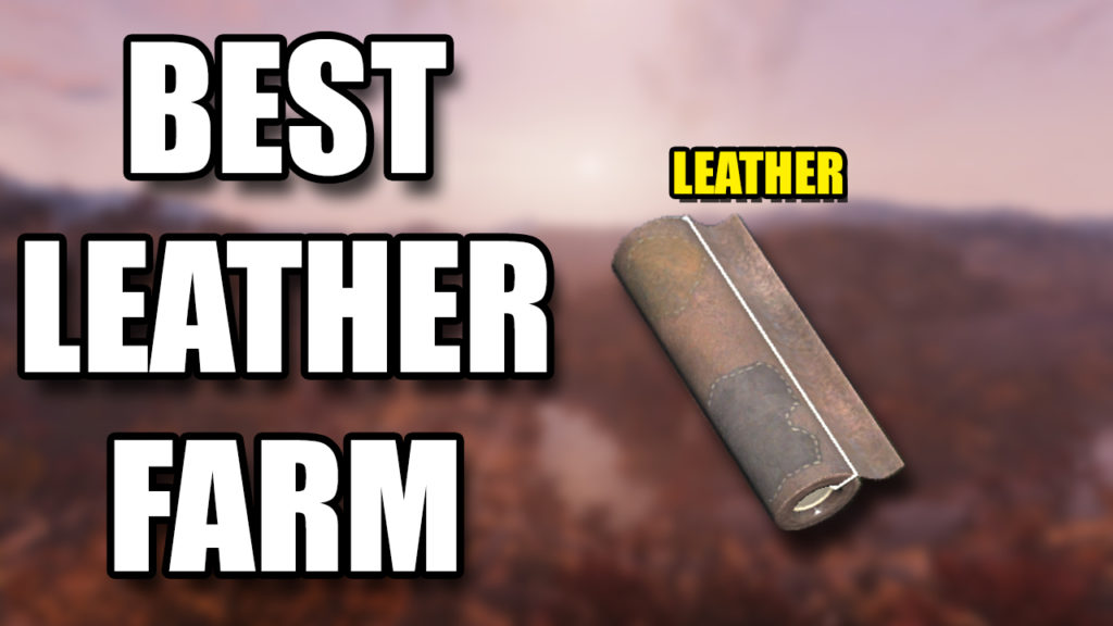 Fallout 76 Leather Farm