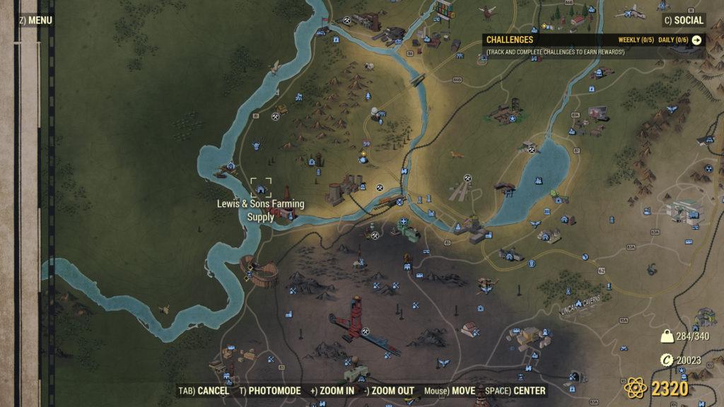 Fallout 76 Adhesive Farm