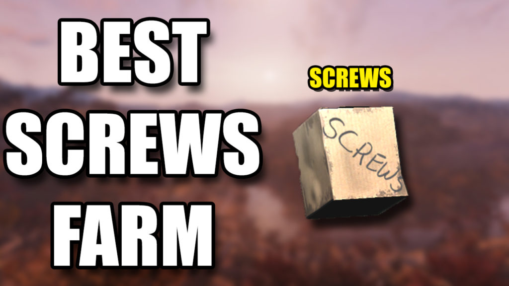 Fallout 76 Screws Farm