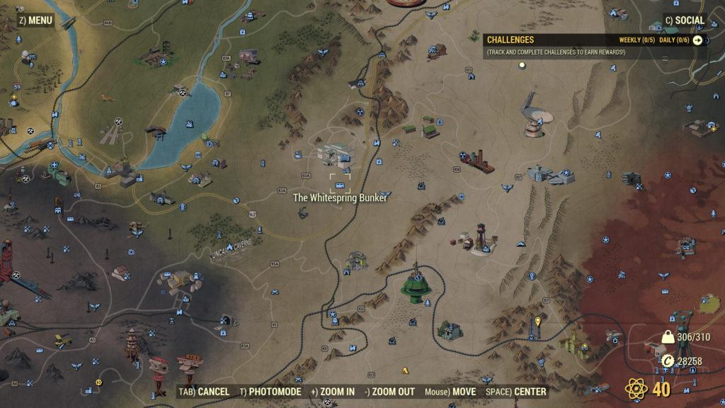 Fallout 76 Whitesprings