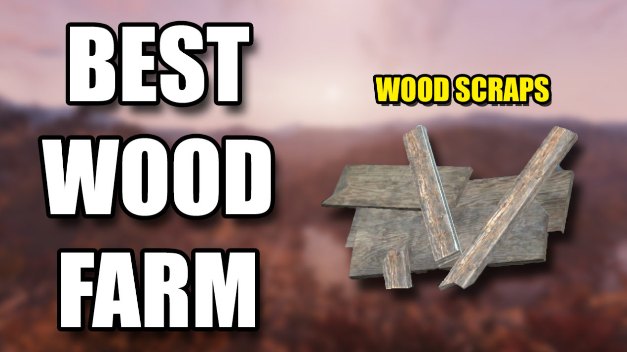 Fallout 76 Wood Farm