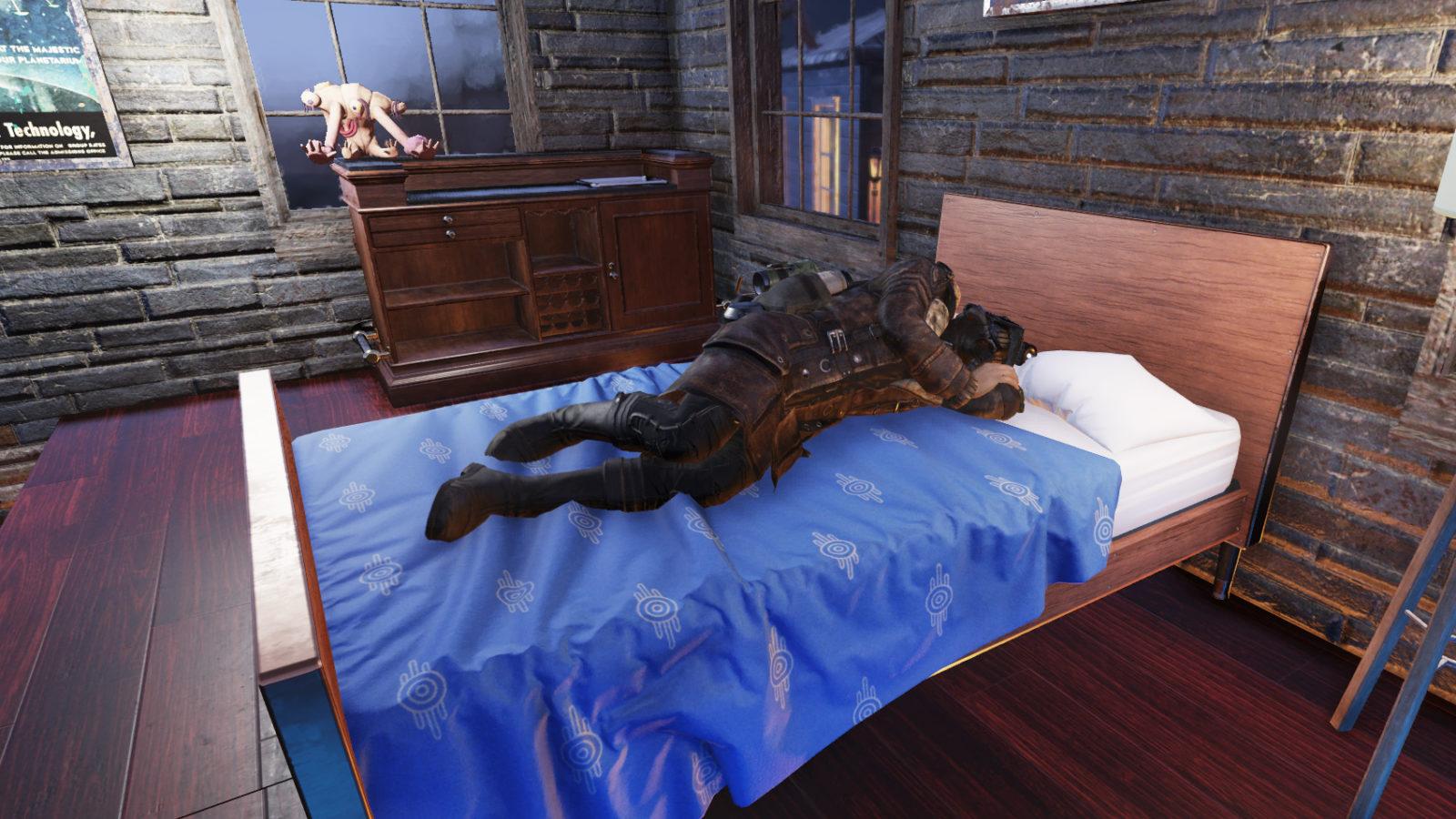 Fallout 76 Sleeping XP Bonus