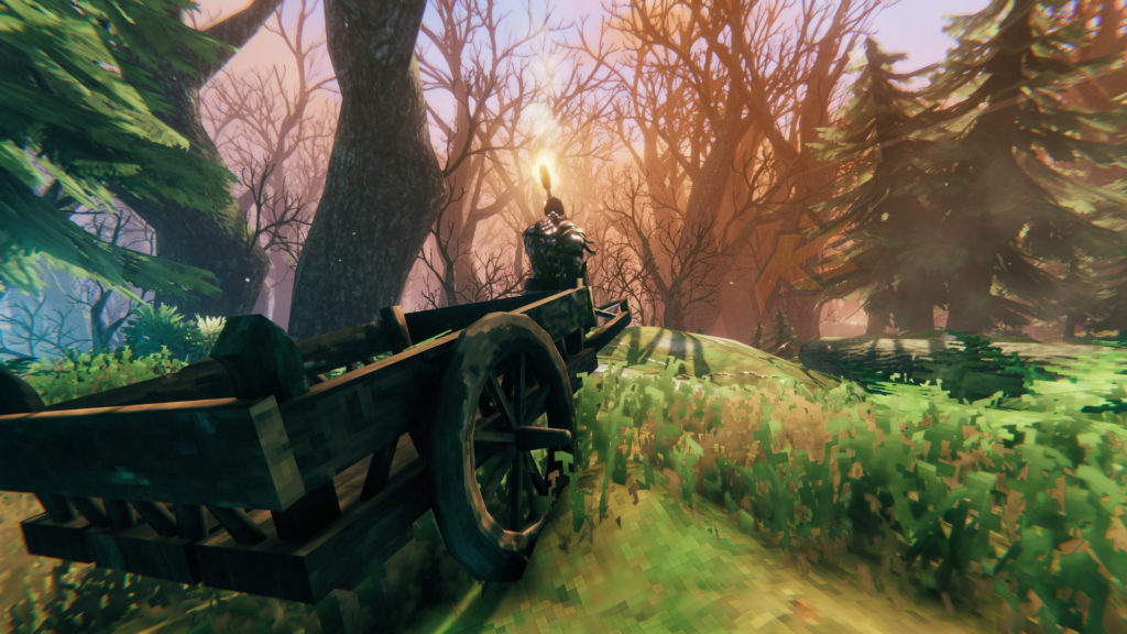 Valheim Swamp Cart