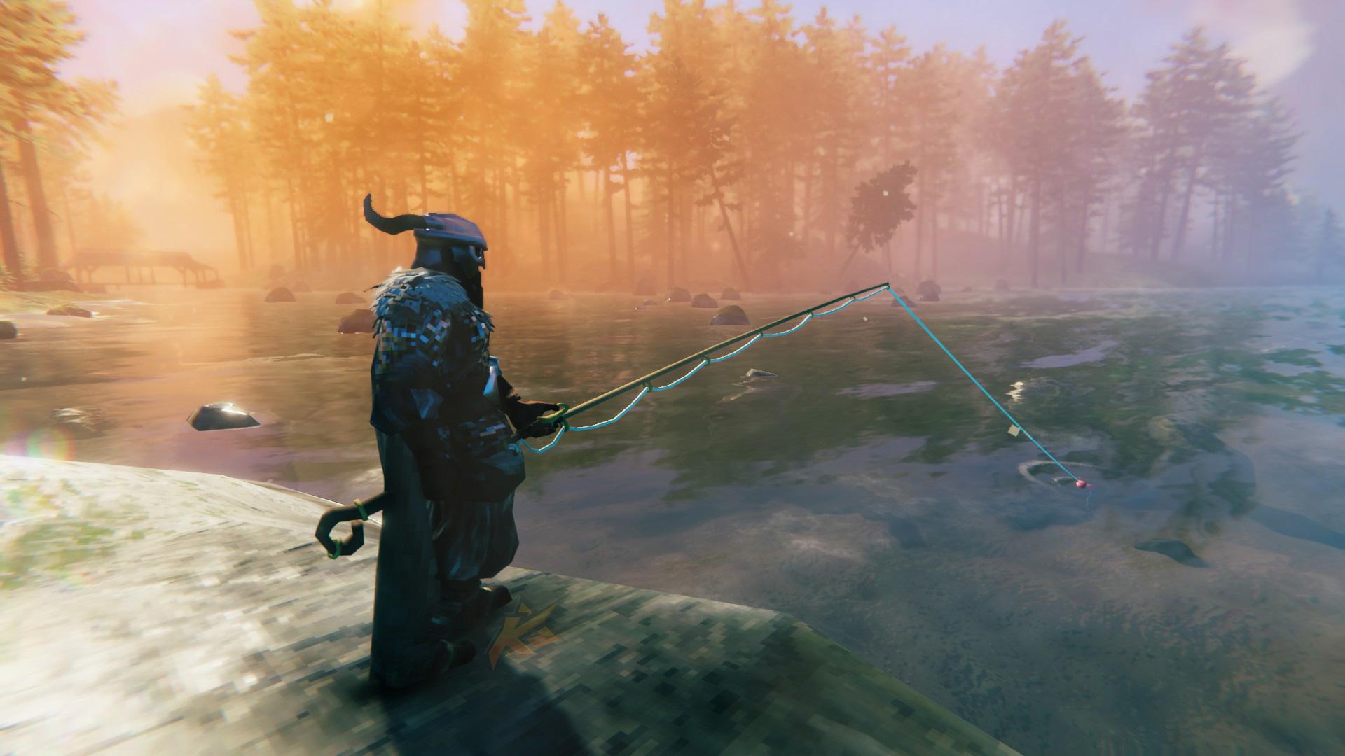 Valheim Fishing