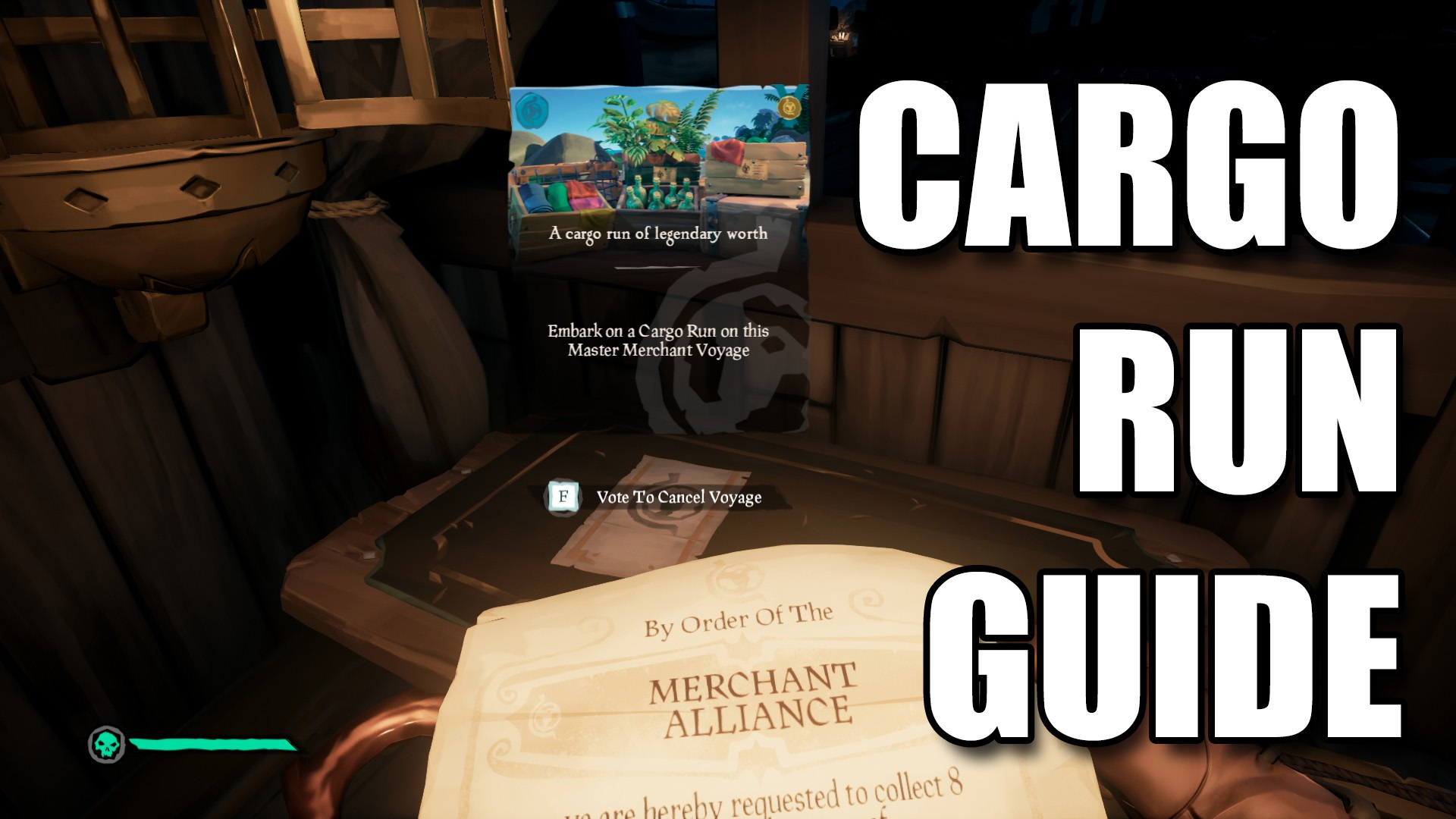 Sea of Thieves Cargo Run