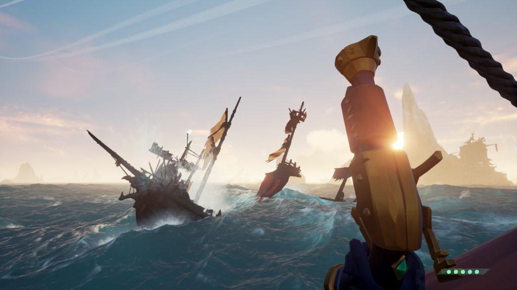 Galleon Skeleton Ship Spawning