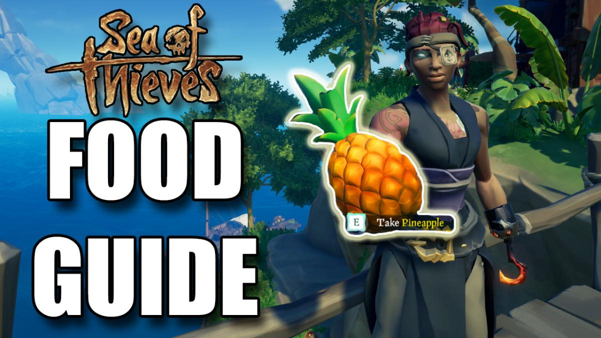 Sea of Thieves Food Guide Image, Kevduit holding a Pineapple