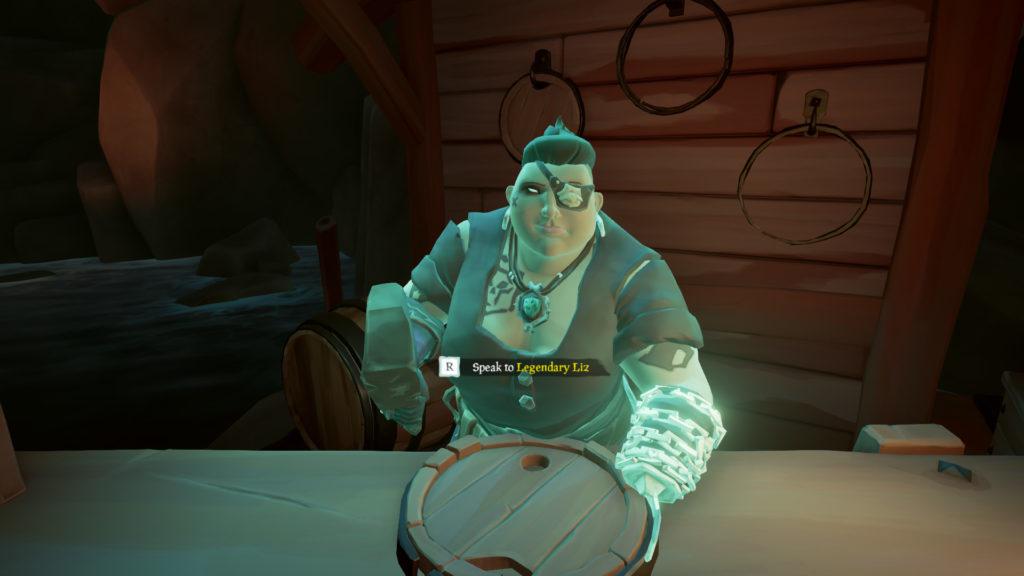 Pirate Legend Vendor Legendary Liz